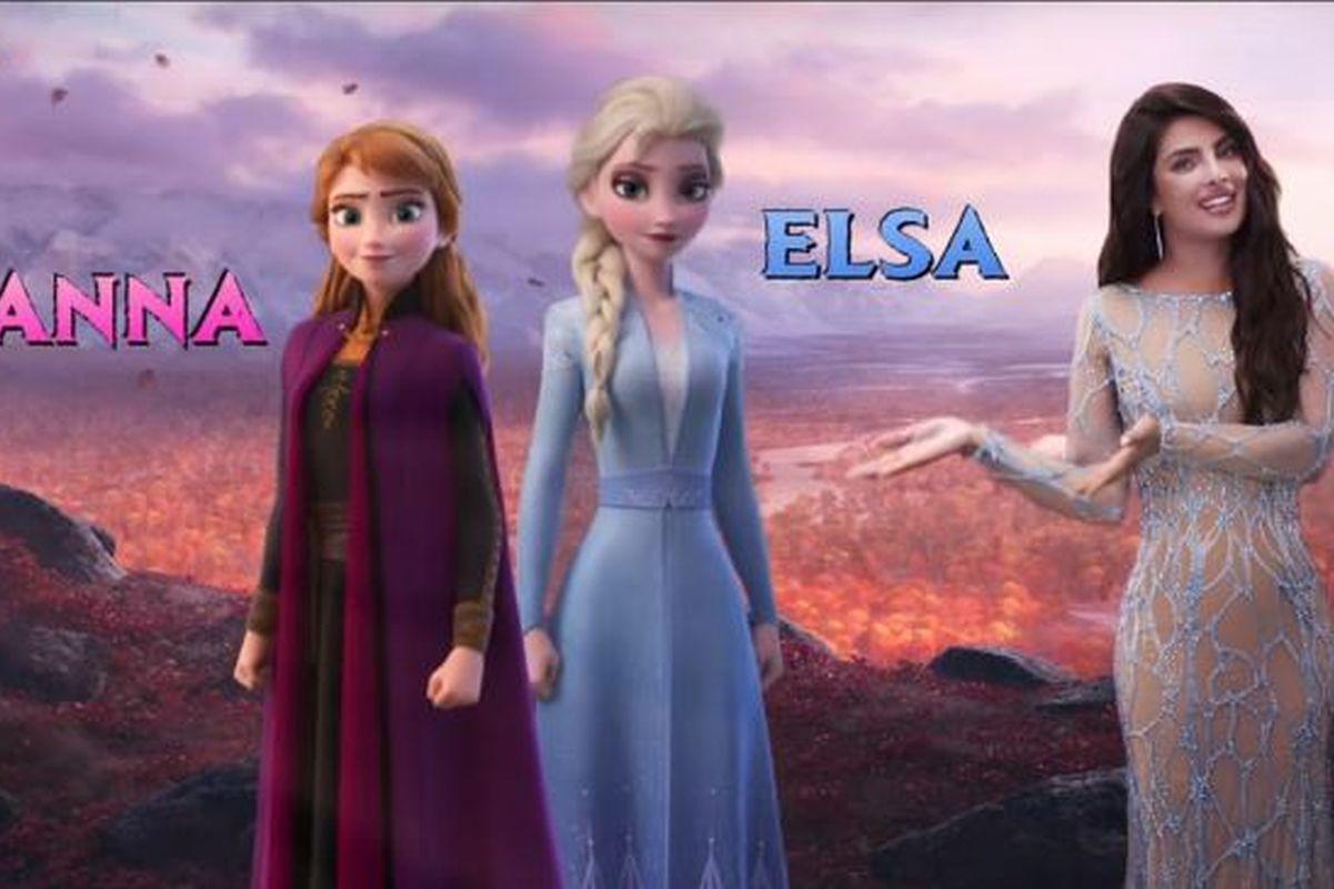 Priyanka Chopra inspires girls with new Frozen 2 promo