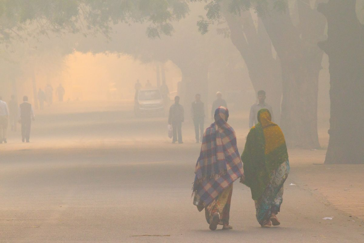 Health risks caused due to severe air pollution