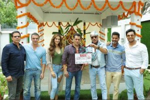 Salman Khan begins shoot for Radhe: Your Most Wanted Bhai
