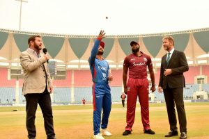 West Indies opt to bowl against Afghanistan in first ODI