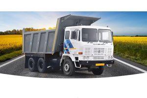 Ashok Leyland total sales fall 35% YOY, stocks down by 2%