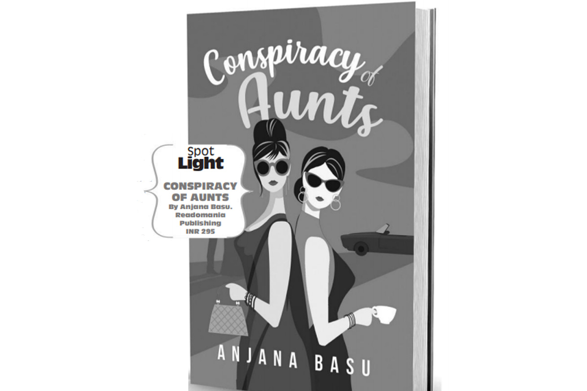 Anjana Basu, Conspiracy of Aunts, Book Review
