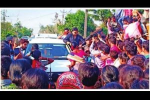 Protesters block Babul Supriyo's way