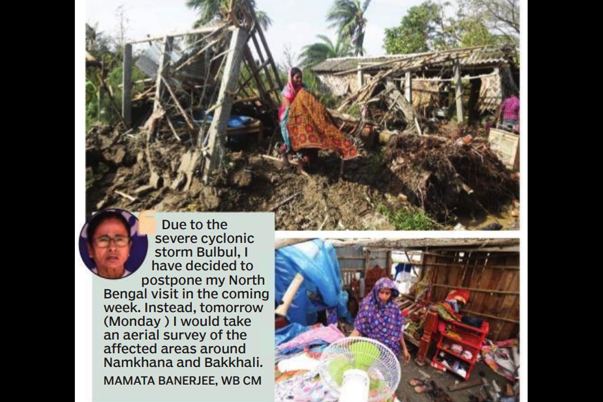Bulbul's weekend, Cyclone Bulbul, Bangladesh, West Bengal