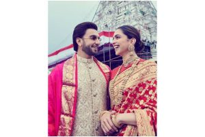 Deepika Padukone, Ranveer Singh celebrate first wedding anniversary in Tirupati, thank fans for lovely wishes