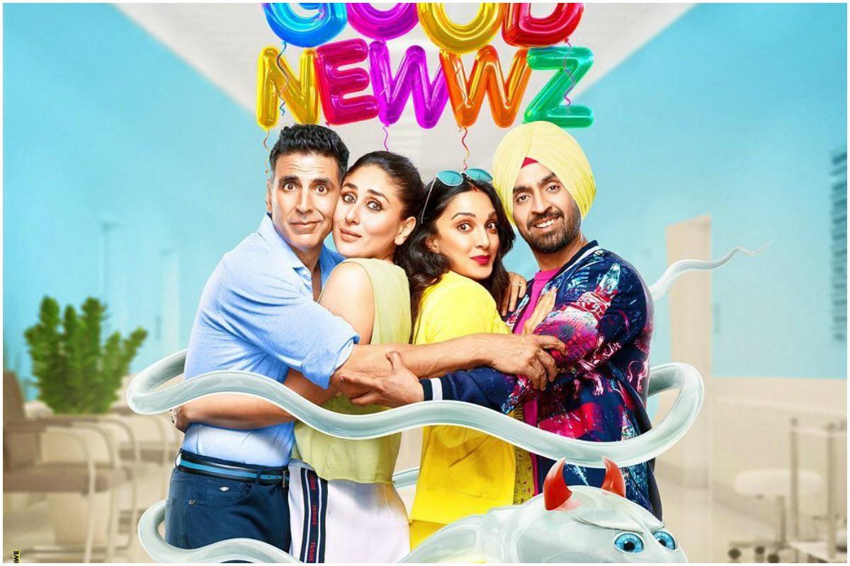Good Newwz, Akshay Kapoor, Kareena Kapoor, Diljit Dosanjh, Kiara Advani