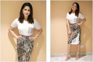 Sunny Leone's outfit gives perfect party vibes; check out pics