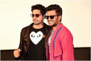 Sidharth Malhotra, Riteish Deshmukh in Delhi ahead of Marjaavaan release