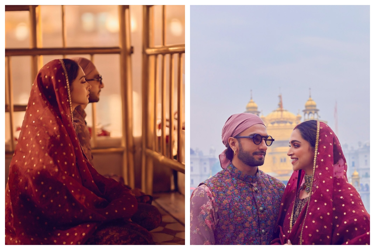 Bollywood couple, Tirupati Temple, Wedding Anniversary, Golden Temple, Deepika Padukone, Ranveer Singh