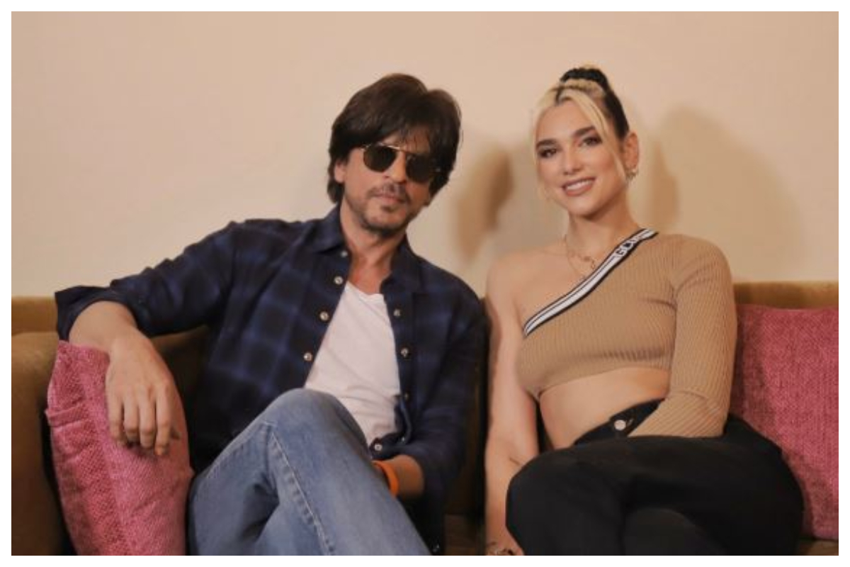 You can't miss these photos of Shah Rukh Khan with Dua Lipa