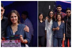 Arjun Kapoor's next untitled film goes on floor; check out pics