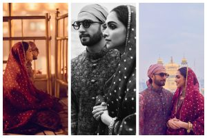 Deepika Padukone repeats her dress from' chooda ceremony' as she visits Golden Temple