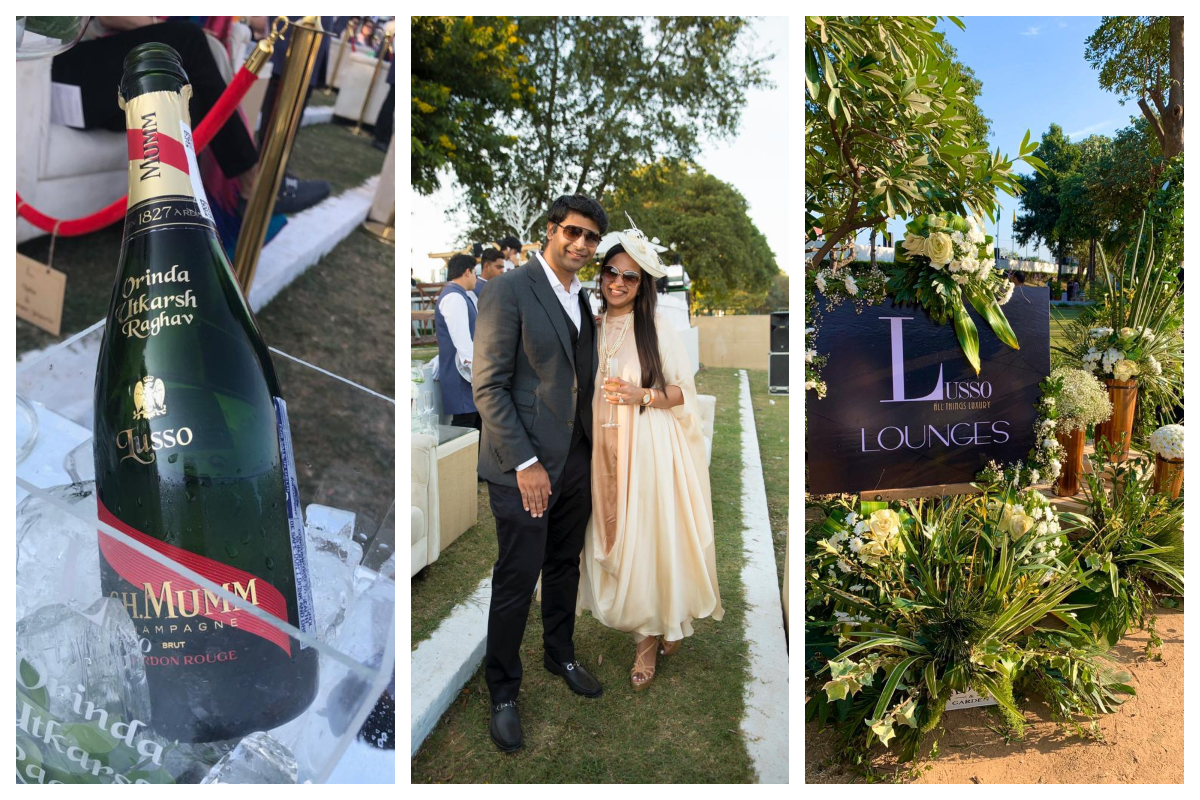 Disha Batra's 'Lusso' becomes 'talk of the town' during Indian Masters Polo Tournament