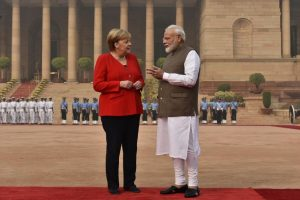 Angela Merkel reaches India, talks with PM Modi, metro station visit on agenda
