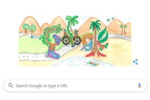 Google celebrates 'Chacha' Nehru's birth anniversary with colourful doodle