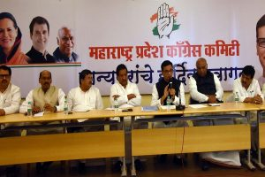 Congress still not decided on support to Sena, to meet Maharashtra leaders at 4 pm in Delhi