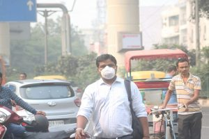 With AQI 216, Delhi breathes easier, though cloud cover at night might play spoilsport