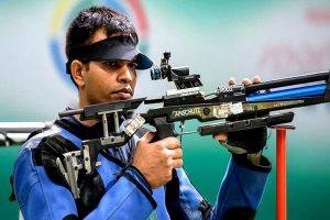 Asian Shooting Championships: Shooter Deepak Kumar wins bronze, bags Olympic quota
