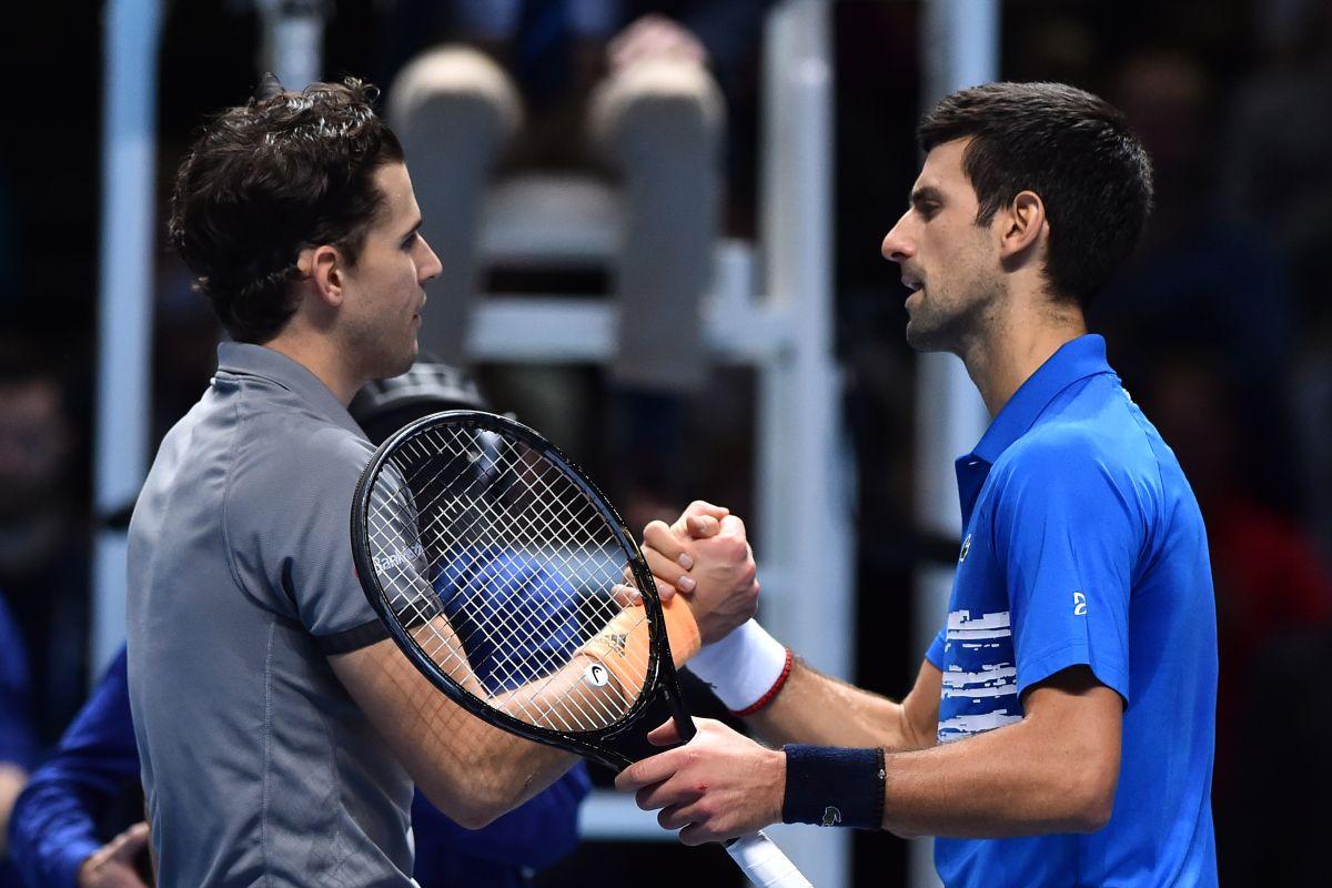 ATP Finals 2019, Dominic Thiem, Novak Djokovic,