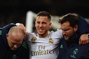 Hazard's first Clasico in doubt after ankle injury