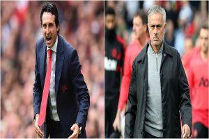 Emery-Mourinho 'showdown' amid Arsenal sack reports