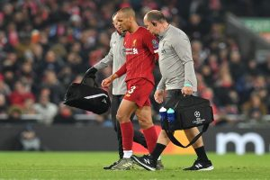 Liverpool's Fabinho ruled out until New Year with ankle injury