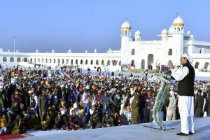 Pak Sikh community observes 550th birth anniversary of Baba Guru Nanak Dev