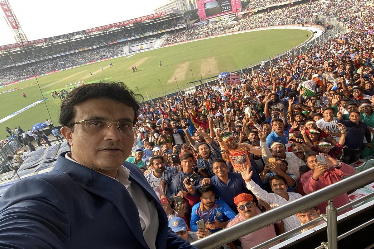 Sourav Ganguly, Pink-ball Test, India vs Bangladesh,