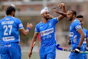 India men's hockey team beats Russia 4-2 in first leg of Olympic qualifiers