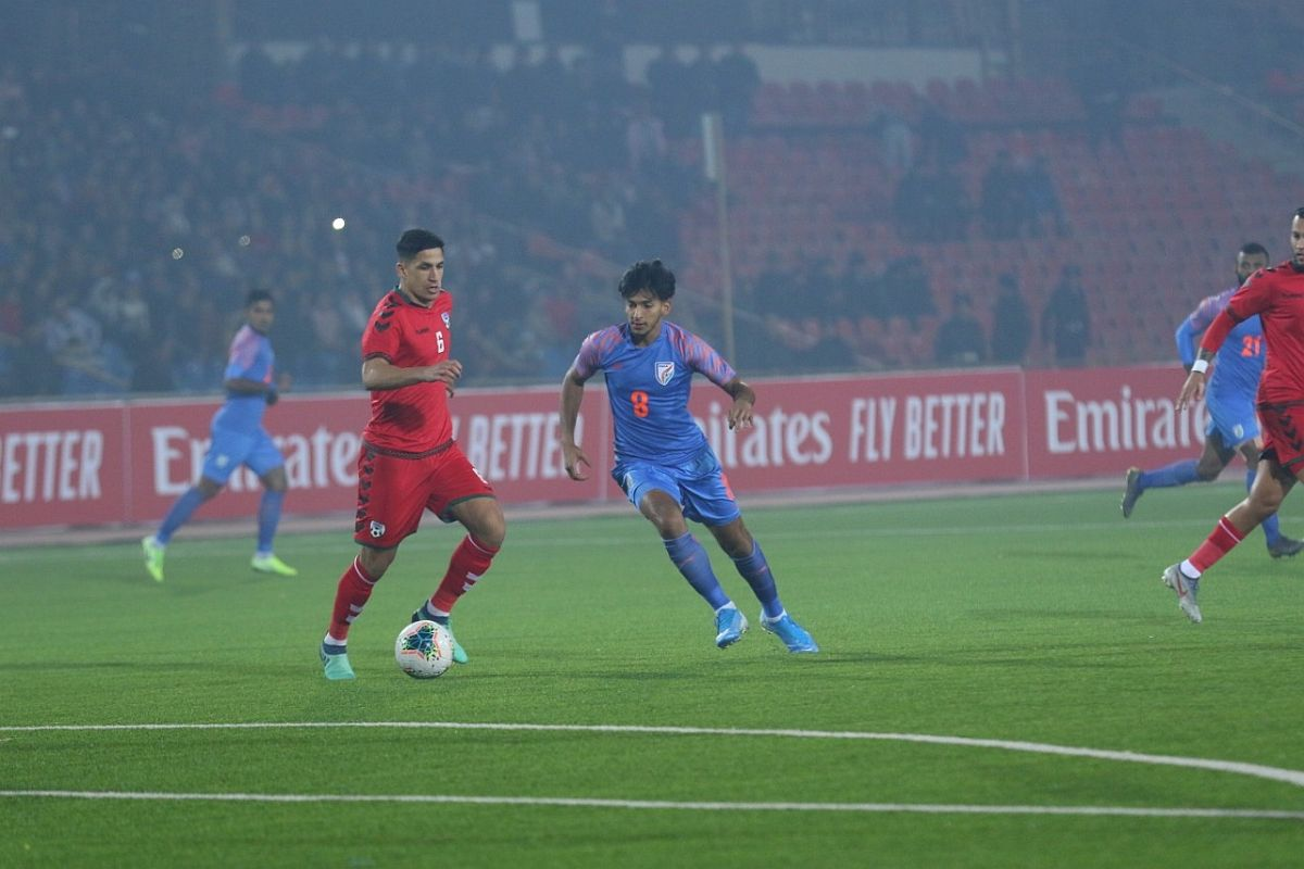 FIFA World Cup qualifier: Doungel goal helps India hold Afghanistan 1-1
