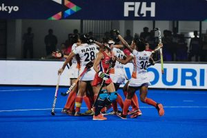 India thrash USA 5-1 to put one foot in Olympics