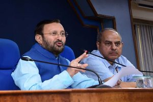 'Delhi busy spending on ads': Prakash Javadekar hits out at AAP govt over pollution