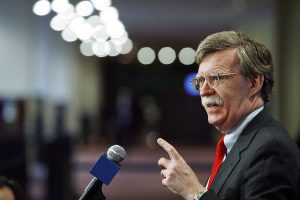 Donald Trump's former NSA John Bolton accuses White House of blocking twitter access