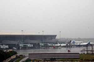 Flight operations at Kolkata airport suspended for 12 hours due to cyclone 'Bulbul'