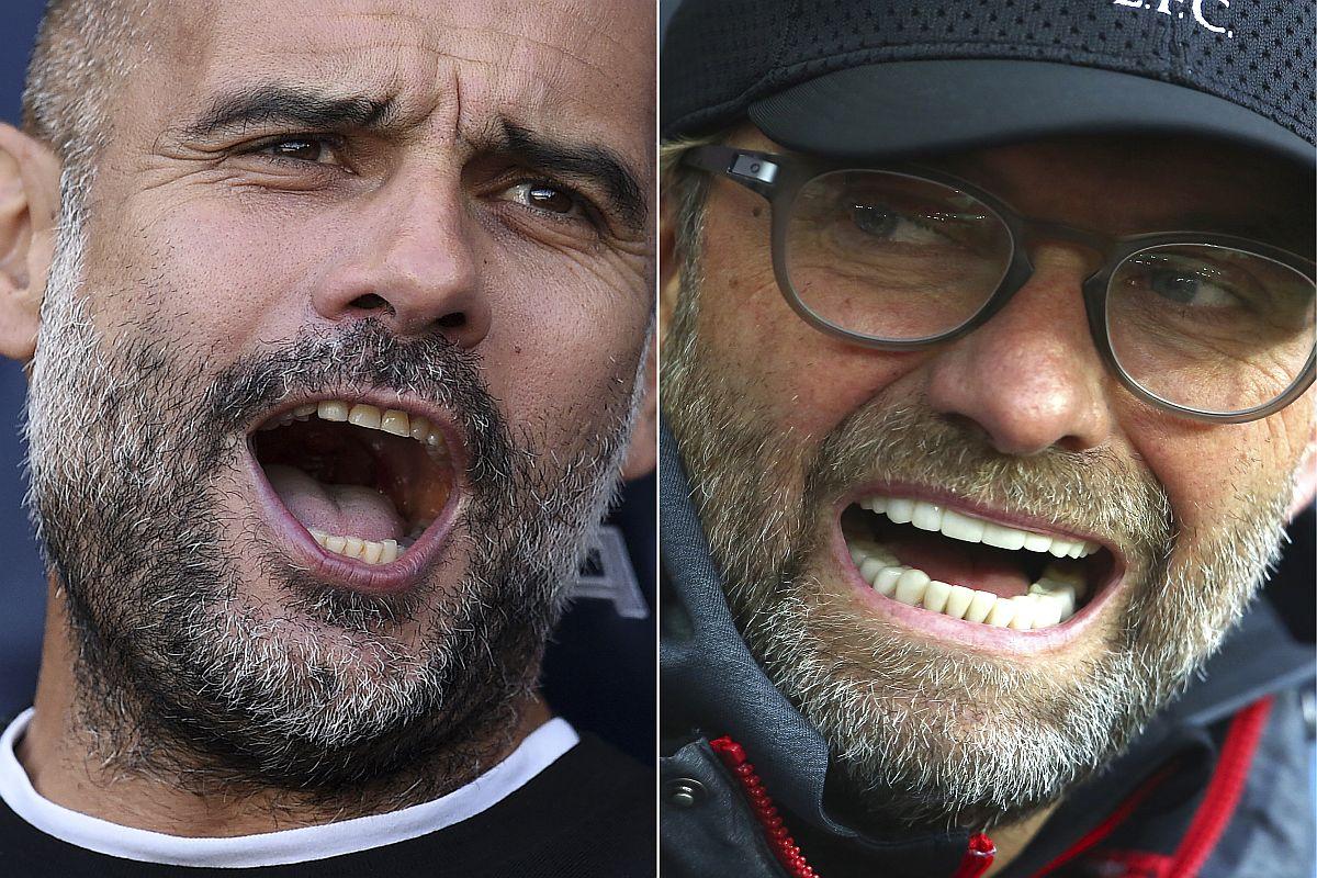 Jurgen Klopp, Pep GuardiolaLiverpool vs Manchester City, Liverpool, Manchester City, English Premier League, Premier League