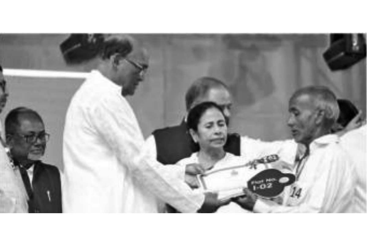 Cooch Behar DM office, Dinhata SDO, Land Boundary Agreement, Bengal News