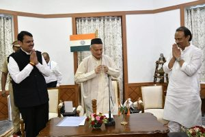 In surprise move, Devendra Fadnavis takes oath as Maharashtra CM; NCP's Ajit Pawar his deputy