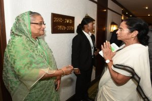 Hasina, Mamata likely to watch historic Day/Night Test together in President's Box