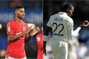 'He is unreal talent, already a national hero': Marcus Rashford backs Jofra Archer after 'racial insult'