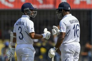Ind vs Ban 1st Test, Day 2, Lunch: Mayank Agarwal, Ajinkya Rahane steer India to 188 for 3