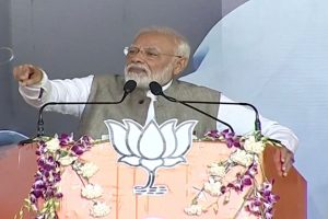 Cong didn't resolve Ayodhya issue as it was worried about its vote bank: PM Modi in Jharkhand
