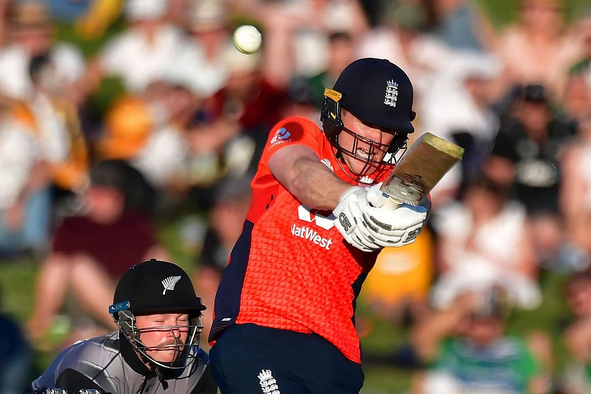 Eoin Morgan, England, New Zealand