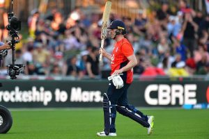 Morgan becomes first England batsman to score 2000 T20I runs