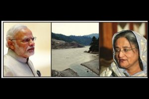Tussle over the Teesta