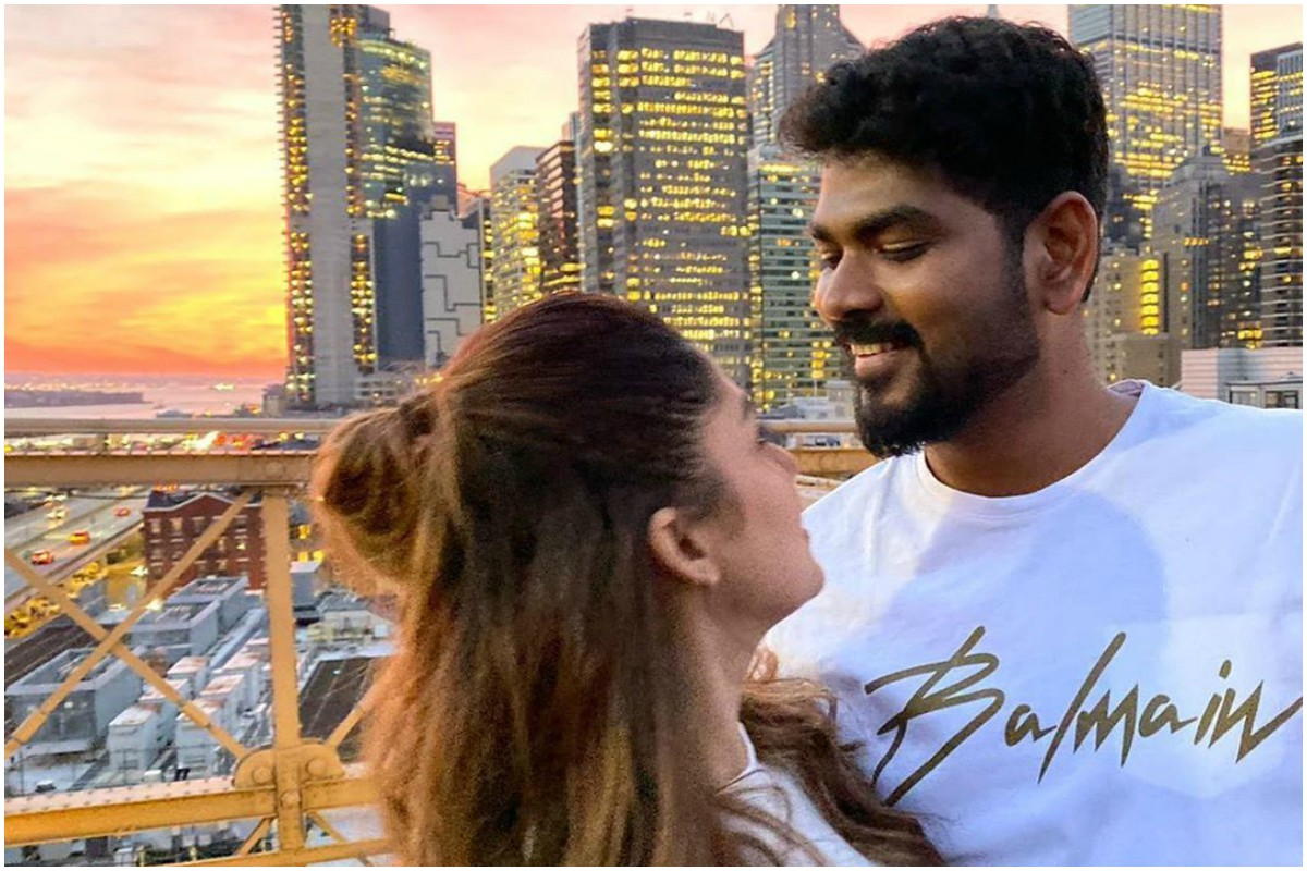 Nayanthara celebrated 34th birthday with boyfriend Vignesh Shivn in New York