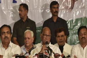 Sharad Pawar rules out tie-up with Shiv Sena, reiterates NCP, Congress to play role of opposition