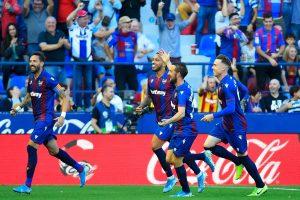 La Liga 2019-20: Levante stun Barcelona 3-1; Real Madrid, Real Betis produce goalless draw