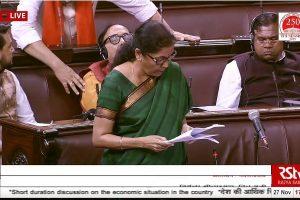 Sitharaman presents 1st supplementary demand of grants in Lok Sabha