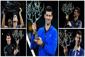 Paris Masters 2019: Novak Djokovic drubs Denis Shapovalov to win fifth title, trails No 1 by 640 points