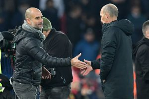 Watch | Pep Guardiola loses cool post controversial VAR decisions in match against Liverpool